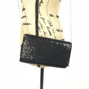 Jessica McClintock Black Izaro ChainMail Clutch